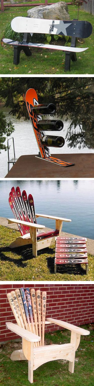 Ski Chairs, Snowboard Benches, and more.