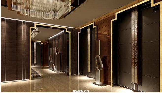 Xichang minshan hotel hotel space indoor china for Indoor elevator