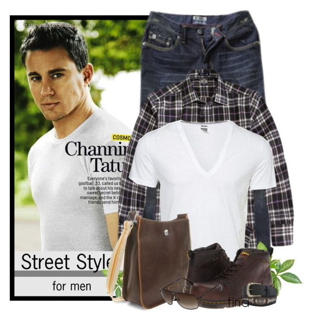 """""""Street Style for Men"""" by matulik77 ❤ liked on Polyvore featuring Dr. Martens and Alexander McQueen"""