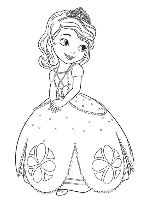 Risultati immagini per principesse da colorare da stampare for Stampa disegni da colorare