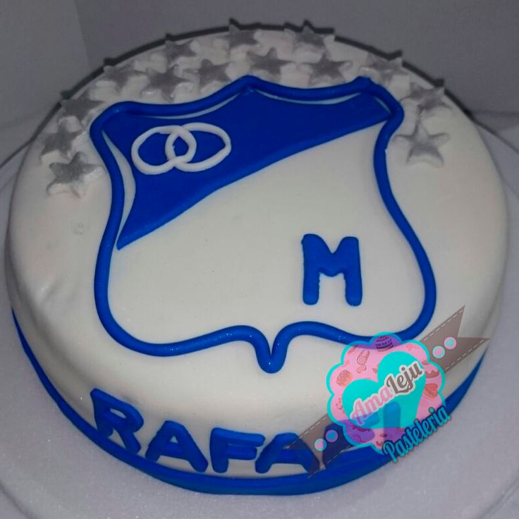 Torta Millonarios Realiza tu pedido por; https://goo.gl/mvYBYv WhatsApp: 3058556189, fijo 8374484  correo info@amaleju.com.co Síguenos en Twitter: @amaleju / Instagram: AmaLeju