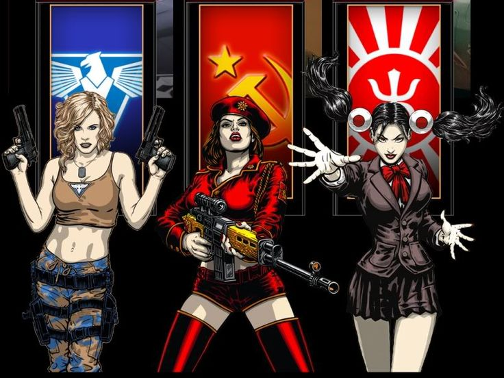 Command and Conquer Red Alert 3 Factions by Masterofartistics on DeviantArt