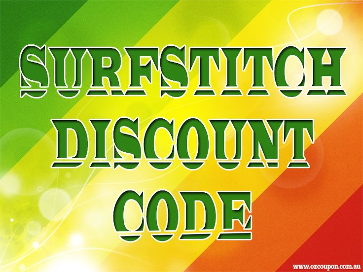 Browse this site http://www.ozcoupon.com.au/store/surfstitch/ for more information on Surfstitch Discount Code. There are many people who are still not all that familiar with Surfstitch Discount Code, where to find them and what they are good for. These work on the same principal as the old fashioned coupons. You will find that they can save you just as much money, if not more, than the standard paper coupons that you have become used to.
