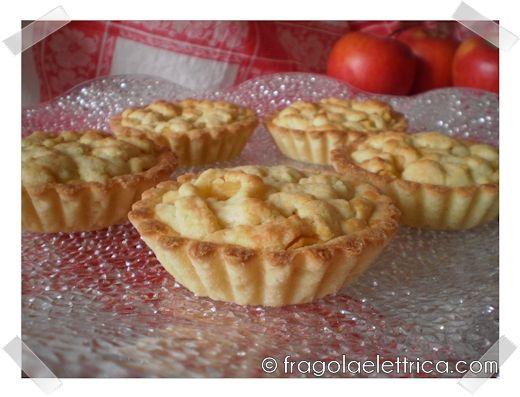 CROSTATINE DI MELE fragolaelettrica.com Le ricette di Ennio Zaccariello #Ricetta