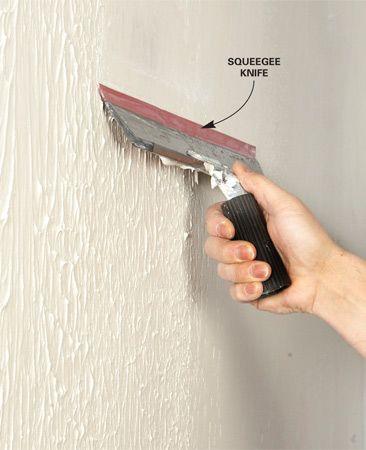 best 25 skim coating ideas on pinterest skim coat plaster removing wallpaper and fixing drywall. Black Bedroom Furniture Sets. Home Design Ideas