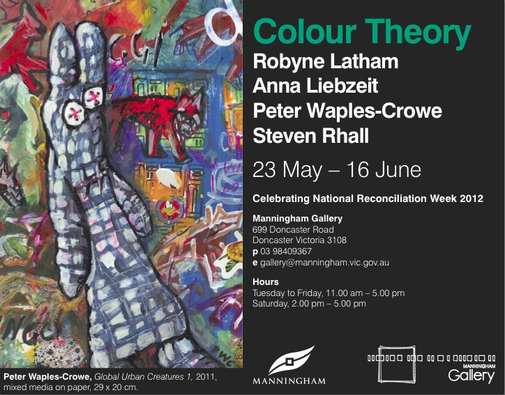 Group show. Colour Theory 2012 - Art Almanac