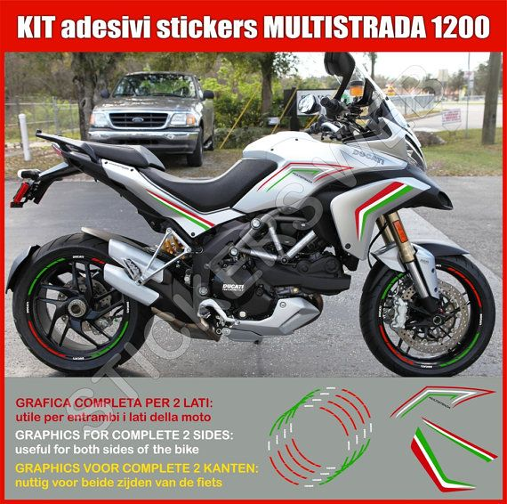 Adesivi Stickers moto motorcycle Ducati di PIMAstickerslab su Etsy