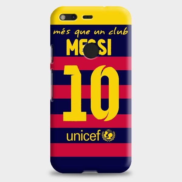 Lionel Messi Fc Barcelona Jersey Google Pixel XL 2 Case
