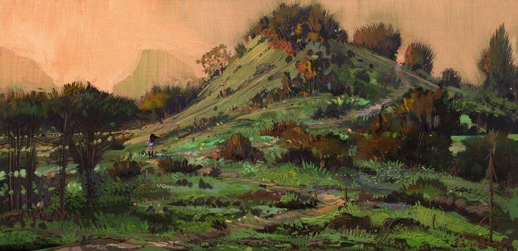 Invented Landscape, Jason Scheier on ArtStation at https://www.artstation.com/artwork/invented-landscape