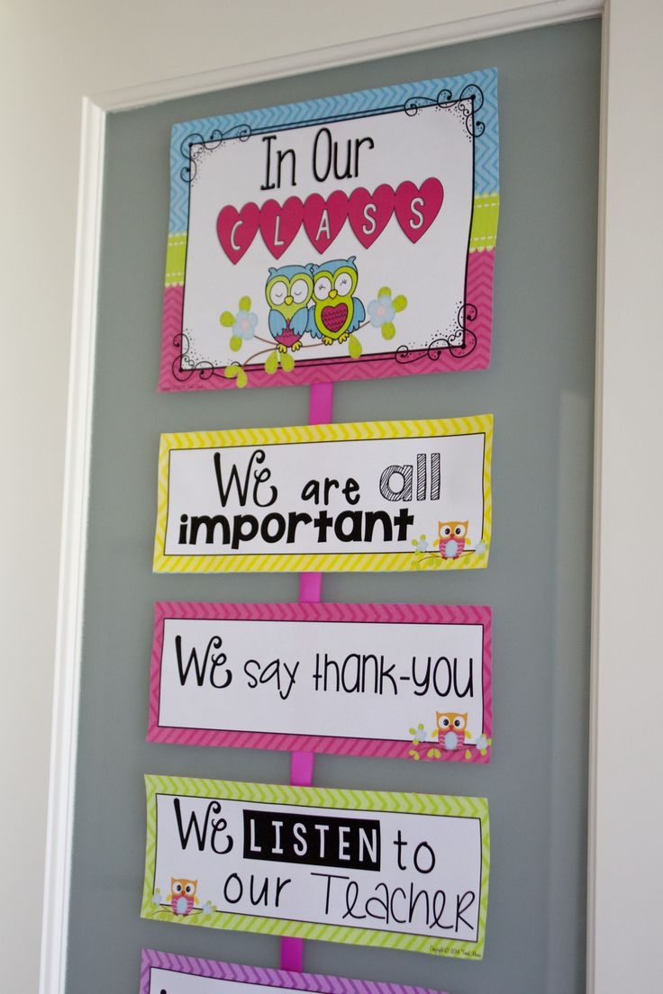 Classroom Rules Decor ~ Best ideas about classroom rules on pinterest