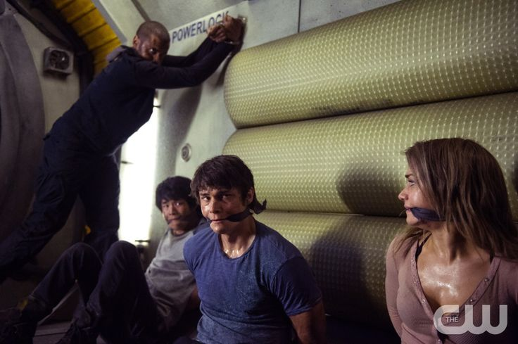 "#The100 3x12 ""Demons"" -  Miller, Monty, Bryan and Harper"