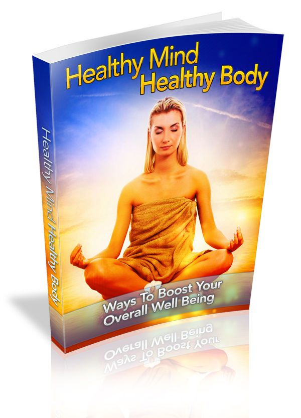 Healthy Mind Healthy Body (Free Ebook with Order)
