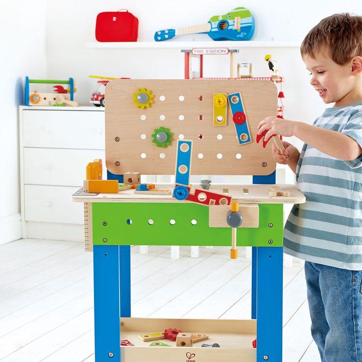 meister werkbank f r kinder. Black Bedroom Furniture Sets. Home Design Ideas