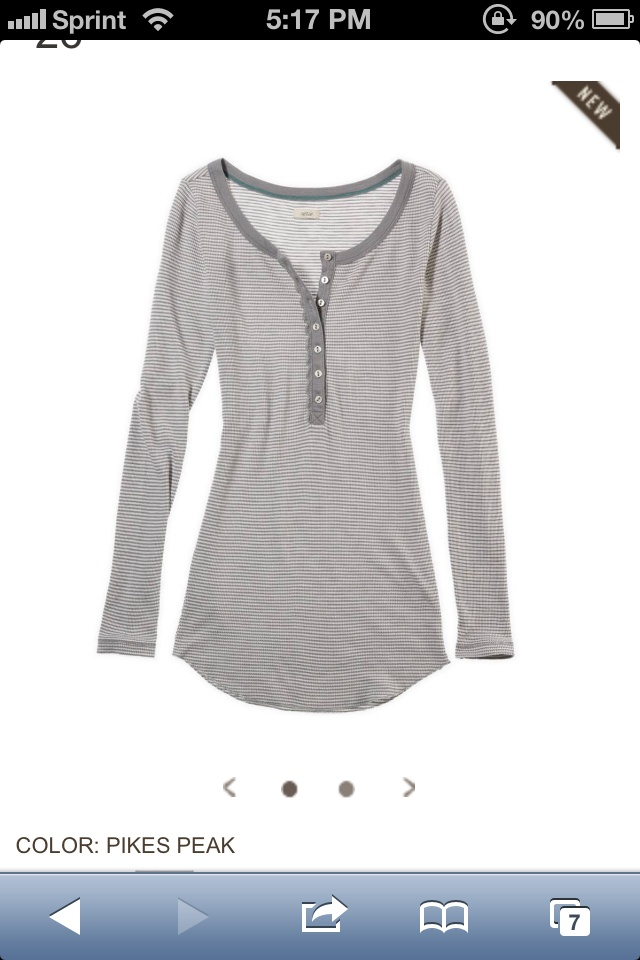 Aerie striped thermal
