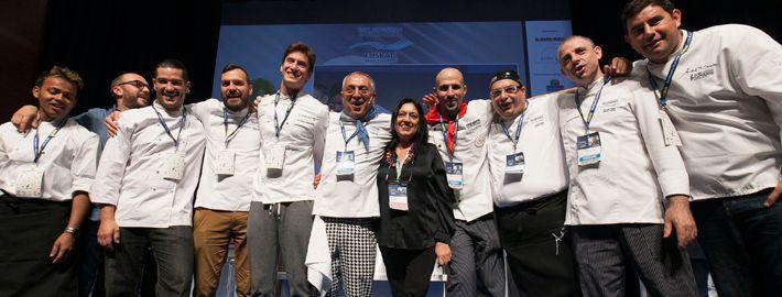 Italia protagonista al congresso per cuochi di San Sebastian.