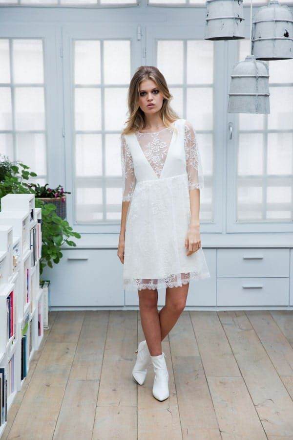 Robes de mariée: Collection Civile Marie Laporte 2019
