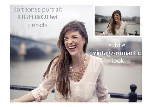 Lightroom Presets | Vintage - Romantic portraits.   Only £2!!