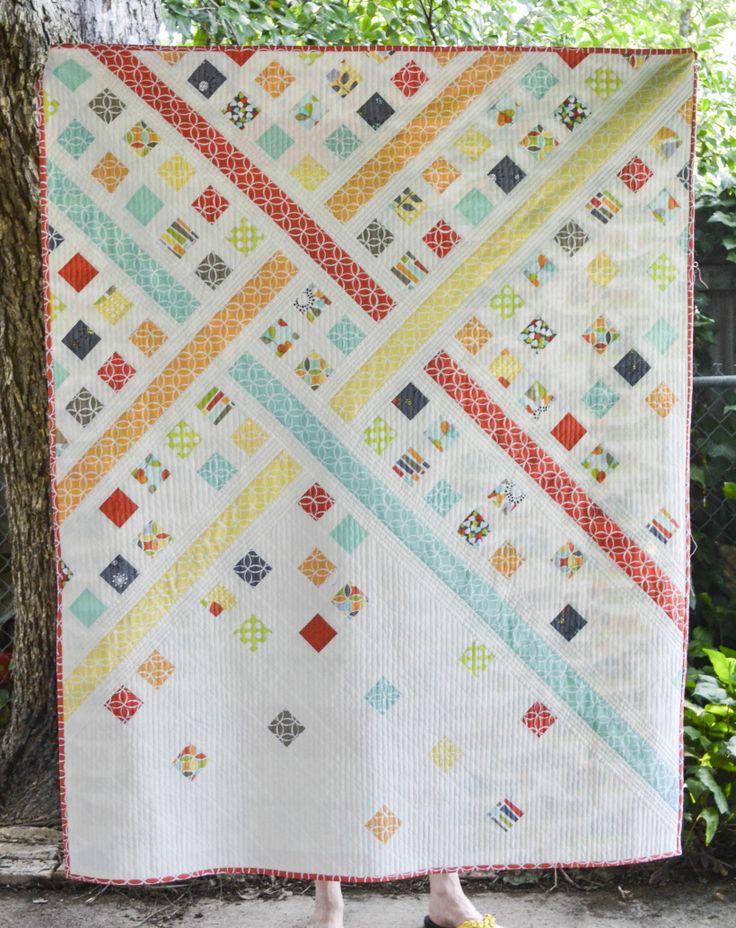 Modern Trellis - Must Love Quilts
