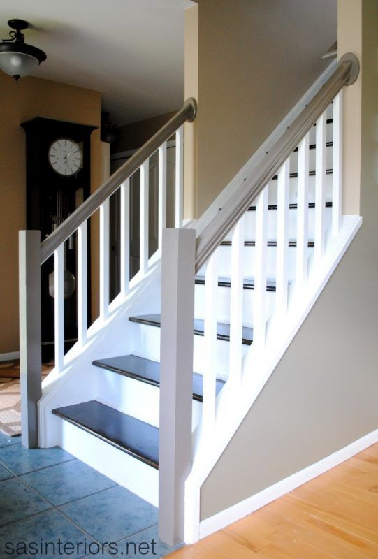 Best 25 redoing stairs ideas on pinterest redo stairs for Ideas for redoing stairs