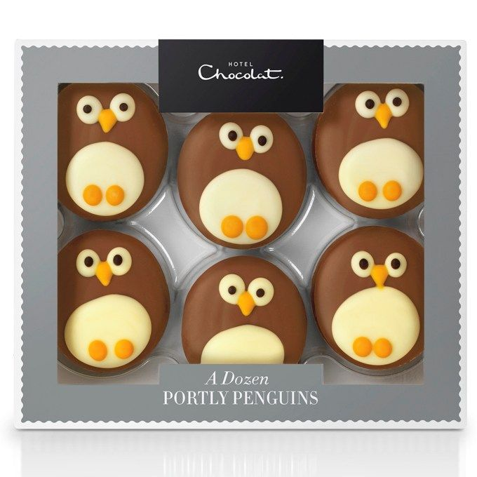 12 Portly Penguins