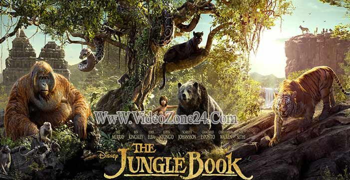 The Jungle Book 2016 Hindi Dual Audio 480p HDCAM 300MB Poster