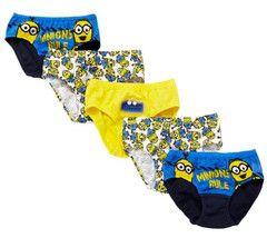 DESPICABLE ME ~ 5pk Underwear | Little Gecko