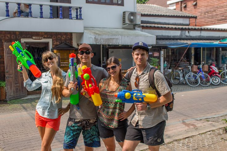 Nice Travel Blog Post About Songkran – Chiang Mai, Thailand
