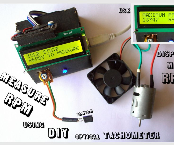 This Instructable will show you how to make a Portable Digital Optical Tachometer using an Arduino Uno. Instead of a slotted sensor , it has a reflection based sensor. So :1. You don't have to worry about the thickness of the rotor2. The number of blades won't change your readings3. It can also read the RPM of drum style rotors which slotted sensor can'tWhat is a tachometer ?A tachometer is a device used to measure the RPM or Revolutions Per Minute of any rotating body. Tachometers can be…
