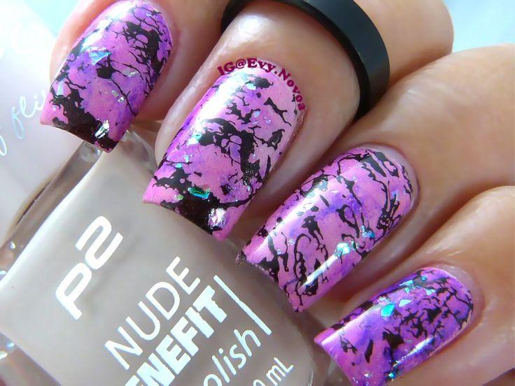 #uñasestampadas #sexynails #moda #estilo #style #fashion #fashionnails #marblednails #pinknails