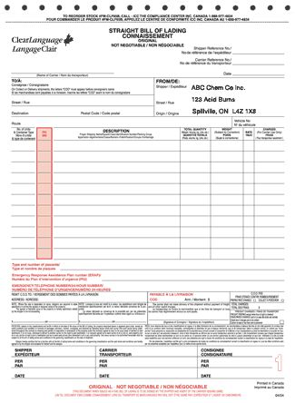 25+ unique Bill of lading ideas on Pinterest Sales template - bill of lading forms