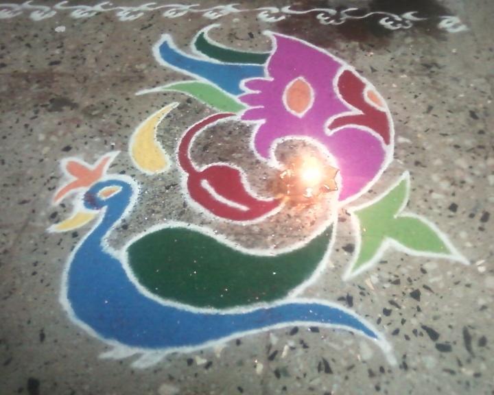 Entry by Jagruti Jadhav(3) #Diwali #Rangoli