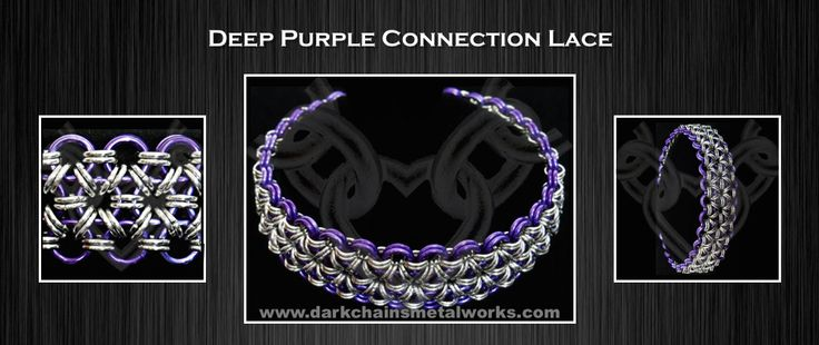 Deep Purple Connection Lace