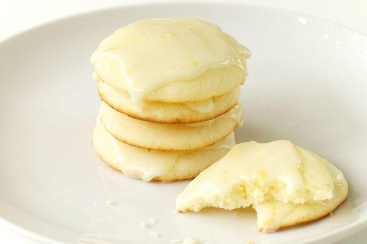 Giada's Lemon Ricotta Cookies with Lemon Glaze dessert recipe.