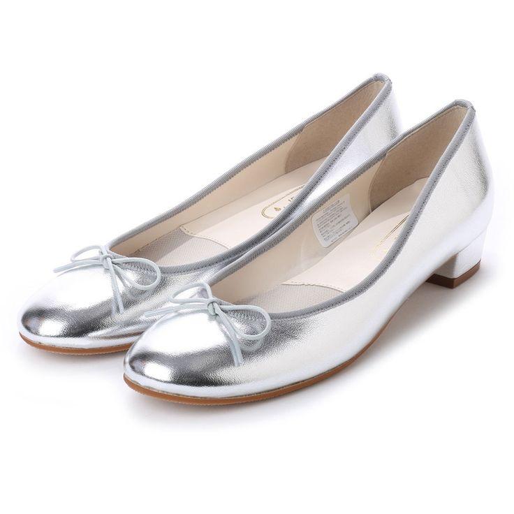 ジェリービーンズ JELLY BEANS バレエレインパンプス 303-7006 (シルバー) -靴とファッションの通販サイト ロコンド