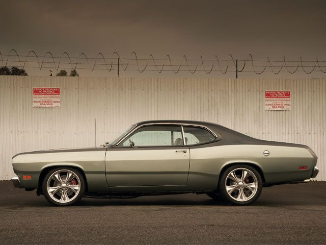 Change the rims but I'd definitely take my mom's old Plymouth Duster any day.