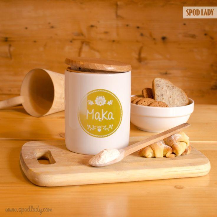 Mąka w każdym domu!  http://www.spodlady.com/prod_18659_Pojemnik_ceramiczny_Maka.html