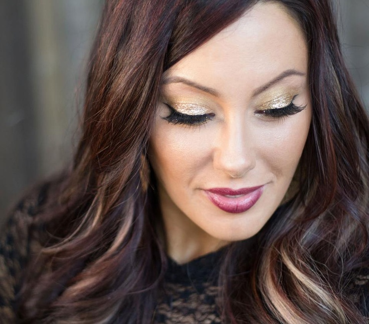 Marlena from Makeup Geek love these highlights! Hair
