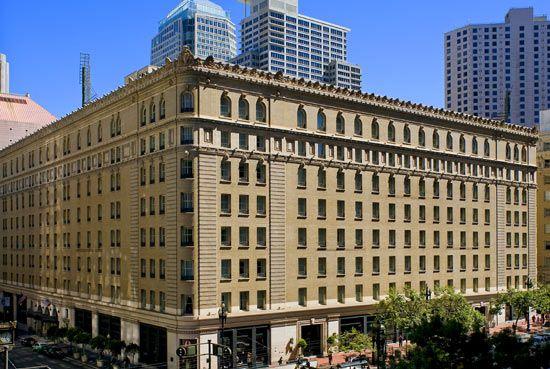 The Palace Hotel, San Francisco - Exterior