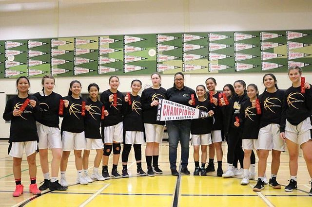 Shout Out To The Garden City Jv Girls Basketball Team On Their Winning The Tier 1 Koac Championship Canadabasketball Basketball Girls Basketball Teams Tiered