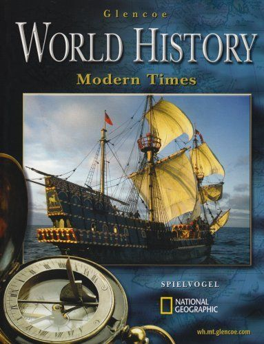 Glencoe World History; Modern Times, Student Edition by McGraw-Hill. Save 73 Off!. $29.60. 830 pages. Publication: March 26, 2004. Publisher: Glencoe/McGraw-Hill; 2 edition (March 26, 2004). Edition - 2