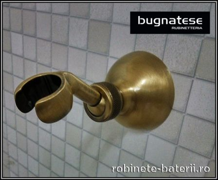 Suport para dus metalic culoare bronz  