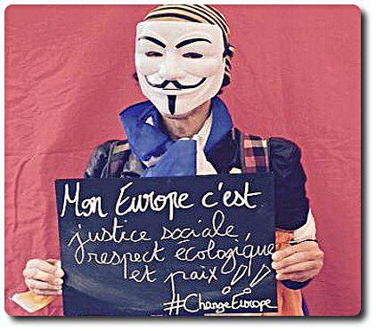 """A une #UE Union Européenne encanaillée, l'#alternative d'un destin commode. #FORUM EUROPÉEN DES ALTERNATIVES #FEA : les #médias vous cachent quelque chose ! Le message du """"non populaire"""" écopé par le traité établissant une constitution pour l'Europe, lors du référendum français sur qui eut lieu le 29 mai 2005, retentit après une décennie. Un forum de 3 jours le rappelle aux mémoires courtes. Et pour montrer à tous les"""