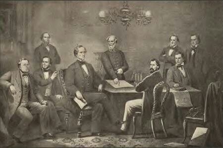 jefferson davis cabinet members