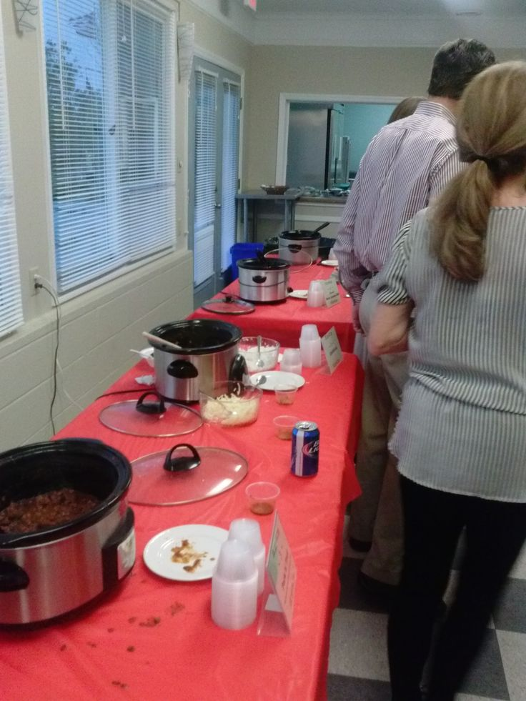 IOPMt Pleasant Exchange Chili CookOff 2014 Chili cook