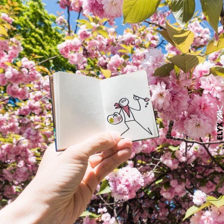 Elyx / YAK / peintre / fleurs