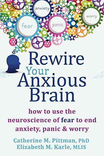 Rewire Your Anxious Brain: How to Use the Neuroscience of Fear to End Anxiety, Panic, and Worry by Catherine M Pittman PhD http://www.amazon.com/dp/1626251134/ref=cm_sw_r_pi_dp_5TC-wb12BKSFJ