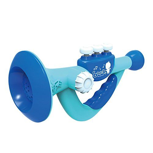 Musical Toy Trumpet Instrument for KidsBaby educationalblue * To view further for this item, visit the image link.Note:It is affiliate link to Amazon.