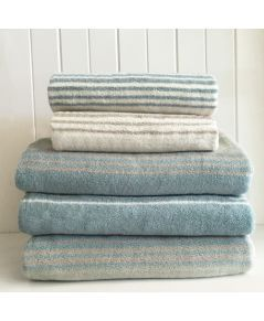 Sorbet Stripe towel collection