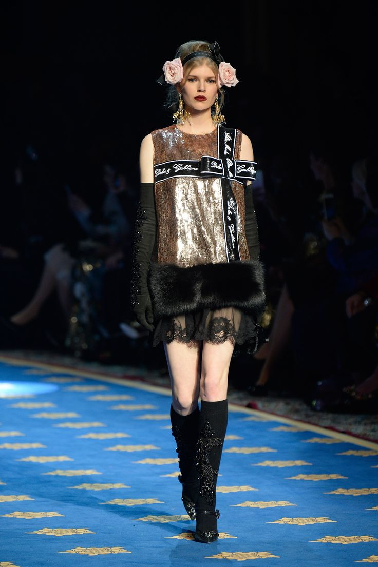 Dolce & Gabbana Alta Moda Spring 2017