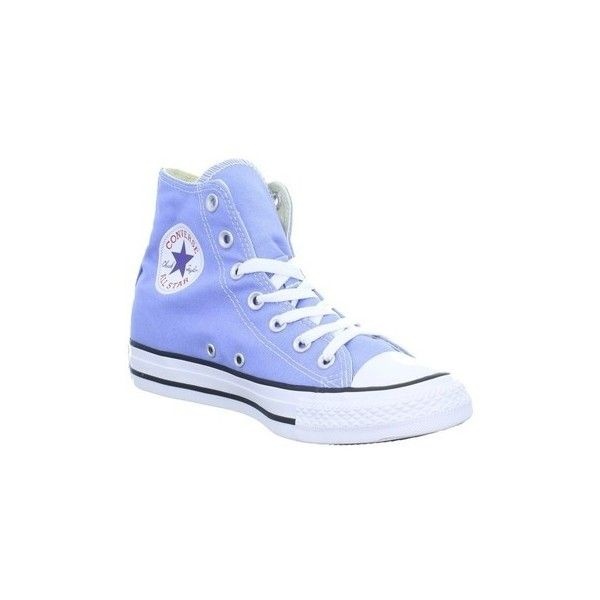 Converse CT AS HI Shoes (High-top Trainers) (£137) ❤ liked on Polyvore featuring shoes, sneakers, blue, high top trainers, women, high top shoes, blue high top sneakers, converse high tops and converse trainers